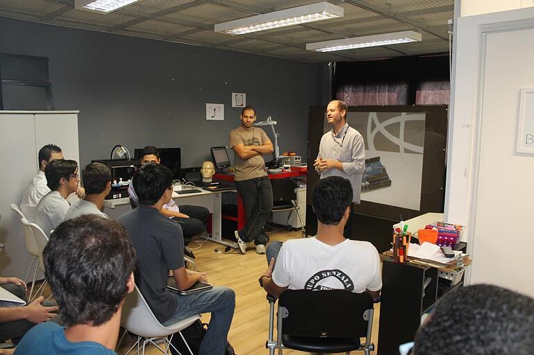 Apresentação do diretor de Tecnologia da MJV Ricardo Sepulveda